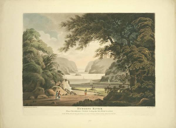 Aquatint Photograph - Hudson River View 1802 by Ricky Barnard