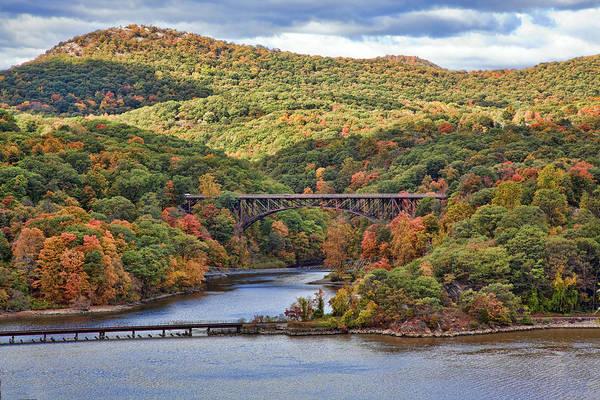 Hudson Valley Wall Art - Photograph - Hudson Valley Bridge by June Marie Sobrito