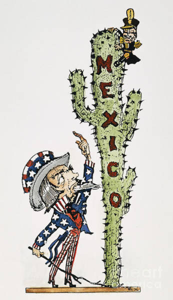 Photograph - Huerta: Cartoon, C1914 by Granger