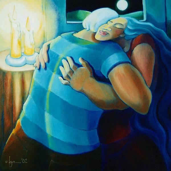 Painting - Hug And A Half by Angela Treat Lyon