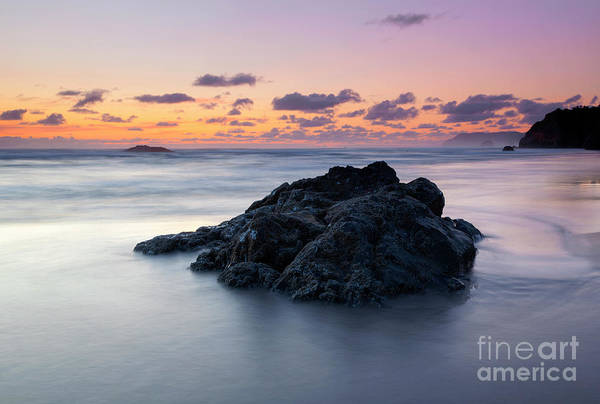 Wall Art - Photograph - Hug Point Dusk by Mike Dawson