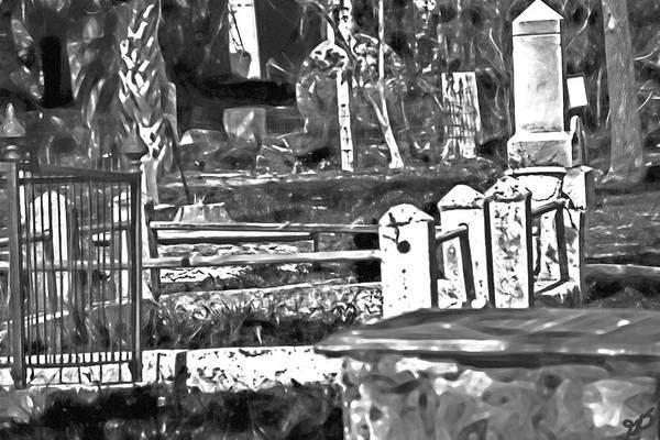 Photograph - Huguenot Cemetery Saint Augustine by Gina O'Brien