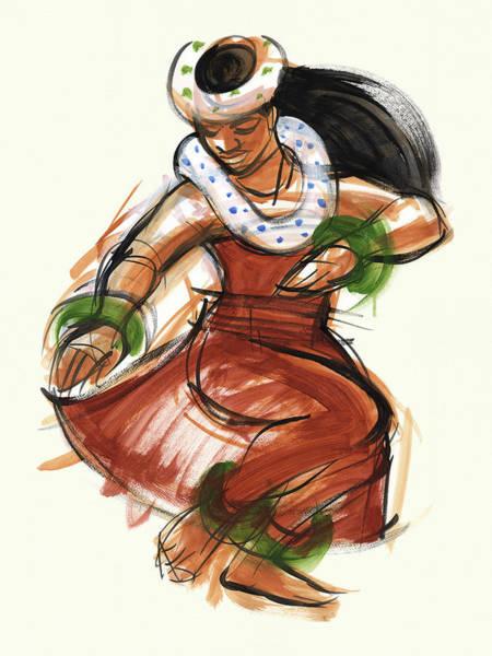 Painting - Hula Kona by Judith Kunzle