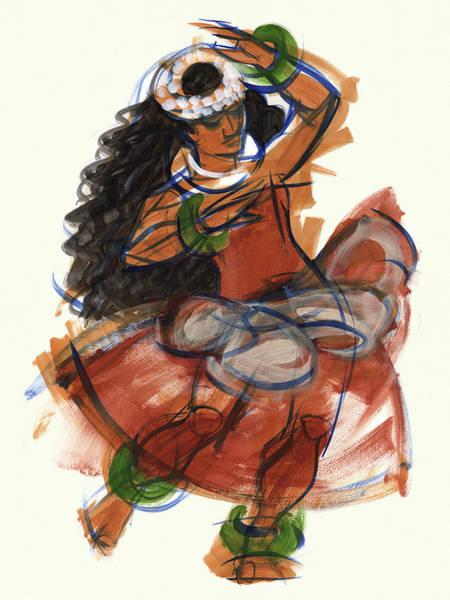 Painting - Hula Puna by Judith Kunzle