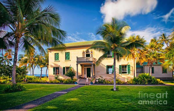 Photograph - Hulihe'e Palace, Kona, Big Island Hawaii by Sam Antonio Photography