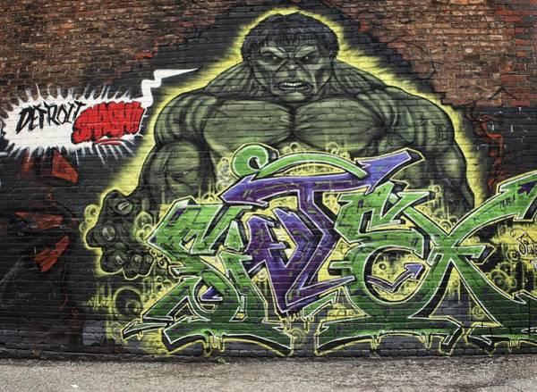 Wall Art - Photograph - Hulk Smash by Chris Fleming