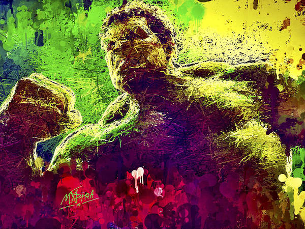 Mixed Media - Hulk Smash by Al Matra