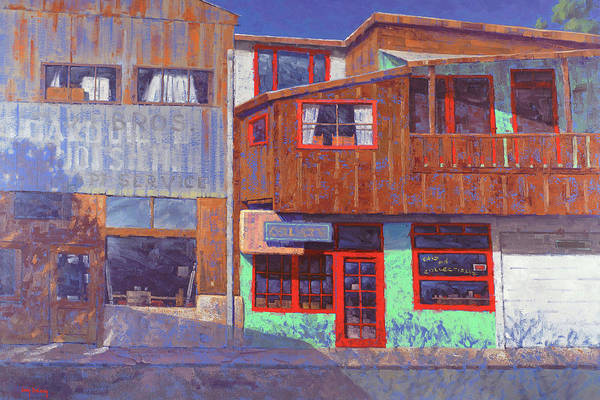 Urban Scene Painting - Hull Ave Hangover by Cody DeLong