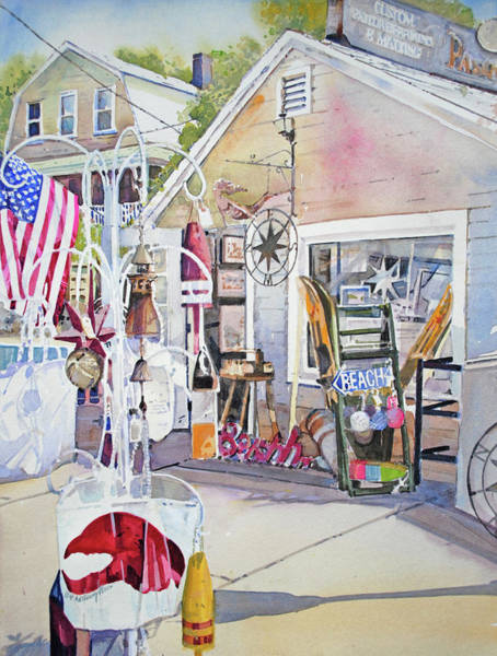 Shopping Painting - Hull Of A Shoppe by P Anthony Visco
