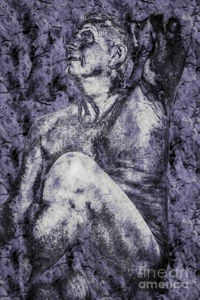 Photograph - Human Statue by Nigel Dudson