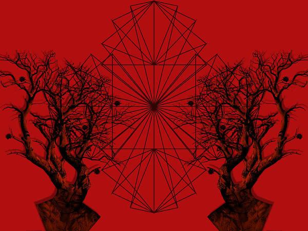 Pattern Digital Art - Human Tree by Arouse Works