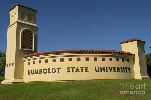 Photograph - Humboldt State University Arcata California Dsc5403 by Wingsdomain Art and Photography
