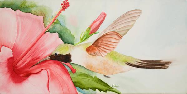 Painting - Hummin by Mishel Vanderten