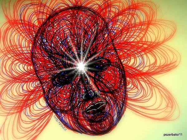 Subjective Digital Art - Humming Mass Of Raw Experience by Paulo Zerbato