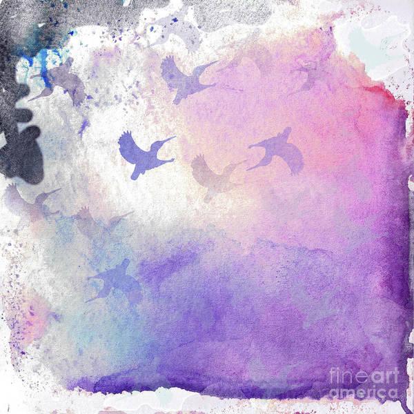 Digital Art - Hummingbird Dreams by Judy Hall-Folde