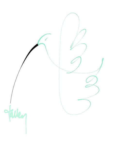 Mixed Media - Hummingbird by Larry Talley
