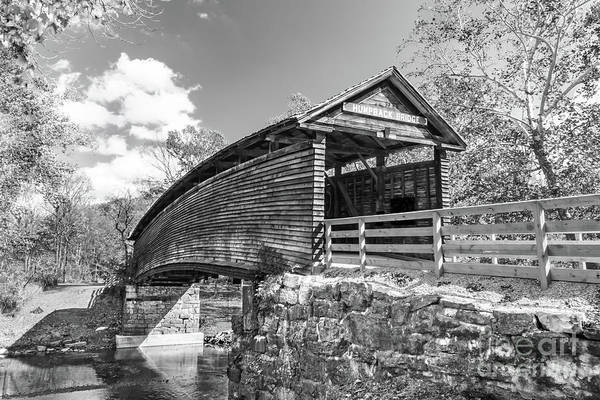 Suggestion Photograph - Humpback Bridge  Black And White by Norma Brandsberg