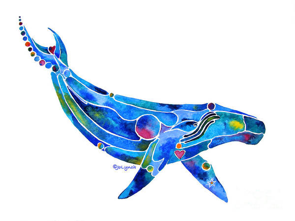 Painting - Humpback Whale 2 by Jo Lynch
