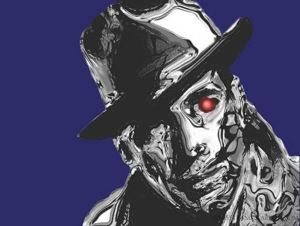 Bogart Digital Art - Humphrey Borg-art by Andy Young