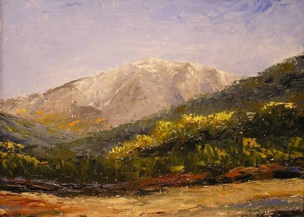 Flagstaff Painting - Humphrey's Peak by Don Barnes
