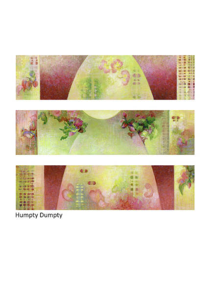 Pastel - Humpty Dumpty by Betsy Derrick