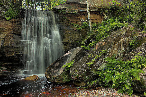 Wall Art - Photograph - Hungarian Fall Middle Falls by Matthew Winn