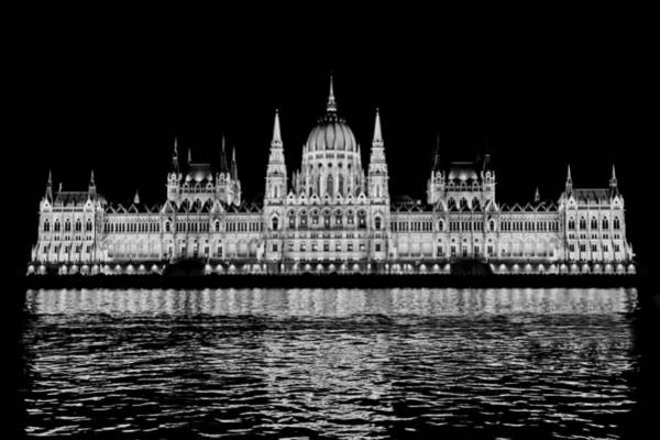 Hungarian Parliament Building Art Print