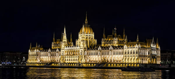 Wall Art - Photograph - Hungarian Parliament by Heather Applegate