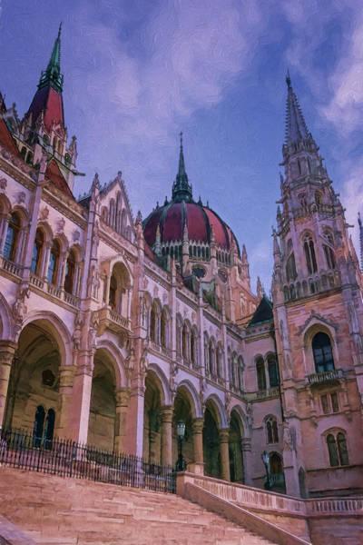 Photograph - Hungarian Parliament Riverside by Joan Carroll