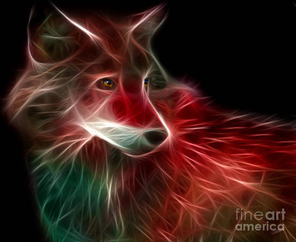 Wall Art - Digital Art - Hunger Prowl by Peter Piatt