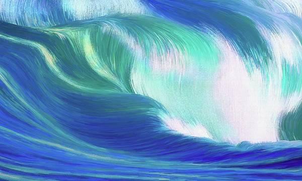 Digital Art - Hungry Ocean by Matt Lindley