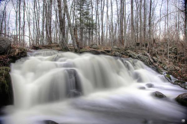 Photograph - Hunter Brook Falls by John Meader