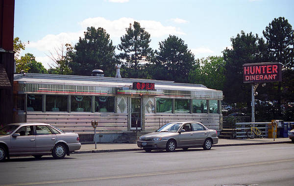 Photograph - Auburn New York - Hunter Dinerant 2005 by Frank Romeo
