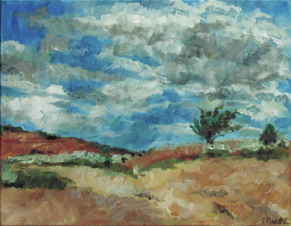 Painting - Hunter Lake Hillside by Susan Moore