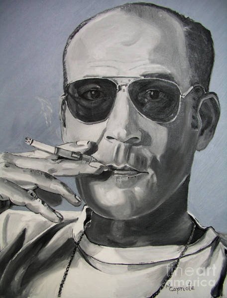 Hunter Thompson Art Print