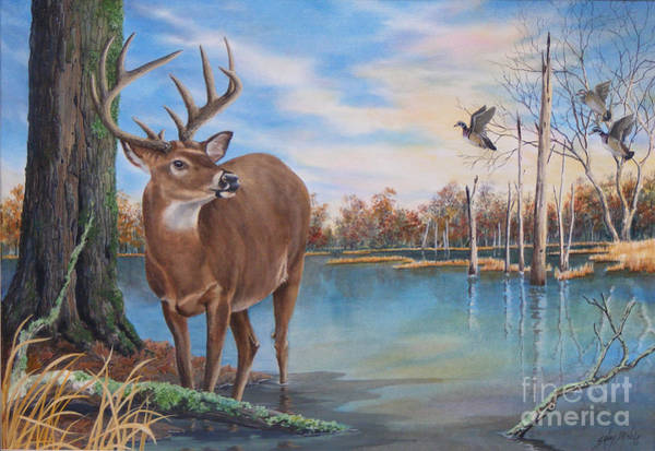 Painting - Hunters Dream Sold by Sandy Brindle