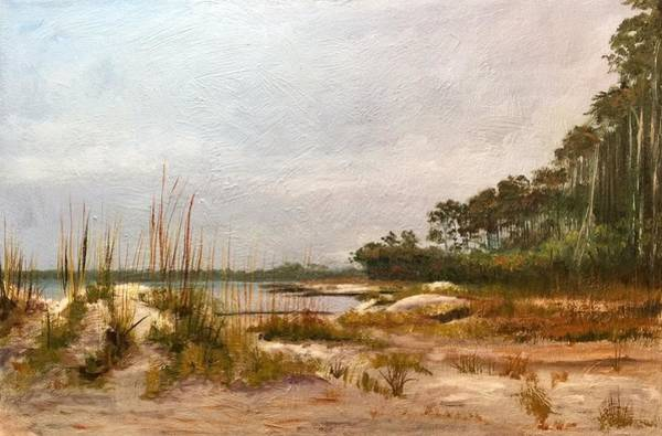 Hunting Island Beach Art Print