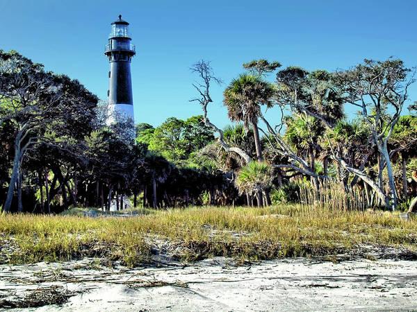 Hunting Island Lighthouse Wall Art - Photograph - Hunting Island Lighthouse 1 - South Carolina by John Trommer