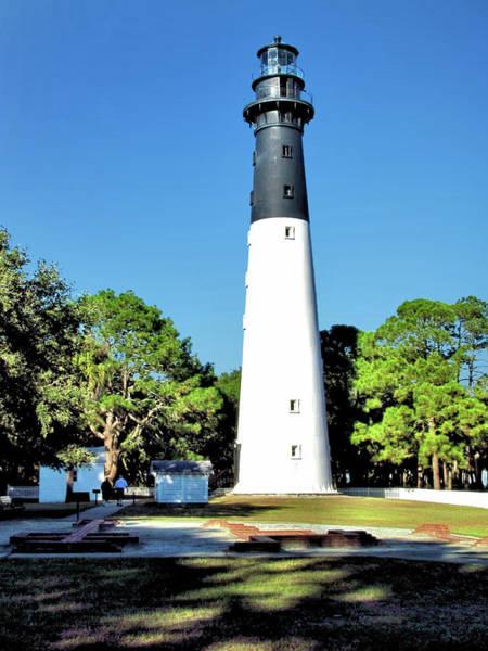 Hunting Island Lighthouse Wall Art - Photograph - Hunting Island Lighthouse 2 - South Carolina by John Trommer