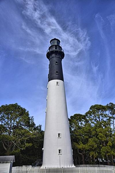 Photograph - Hunting Island Lighthouse by Bill Hosford