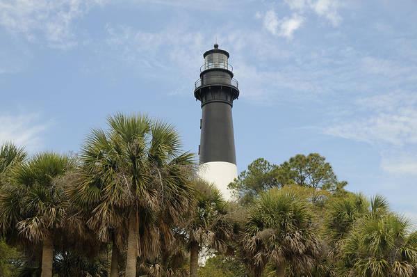 Hunting Island Lighthouse Wall Art - Photograph - Hunting Island Lighthouse by Darrell Young