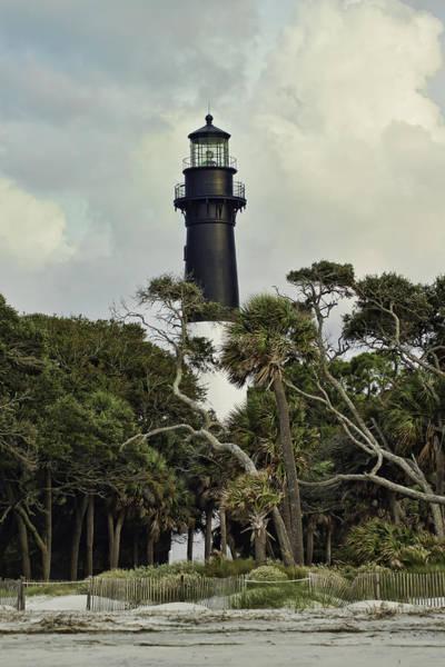 Hunting Island Lighthouse Wall Art - Photograph - Hunting Island Lighthouse by Rachel Clinch