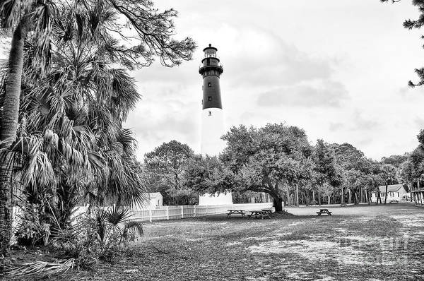 Hunting Island Lighthouse Art Print