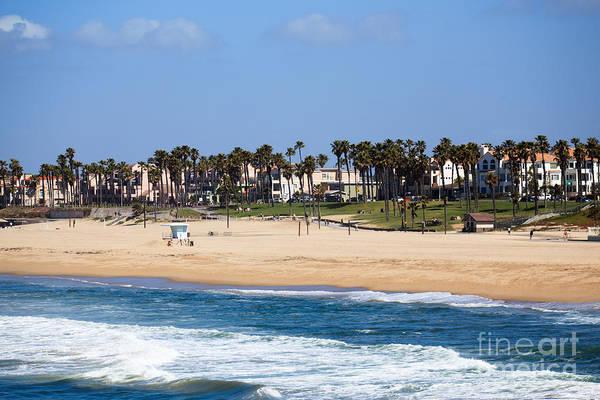 Huntington Beach Photograph - Huntington Beach California by Paul Velgos