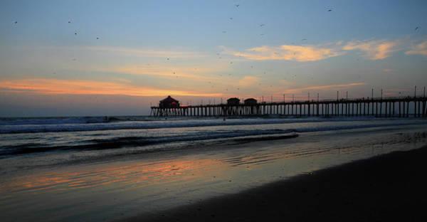 Photograph - Huntington Beach Pier by Pierre Leclerc Photography