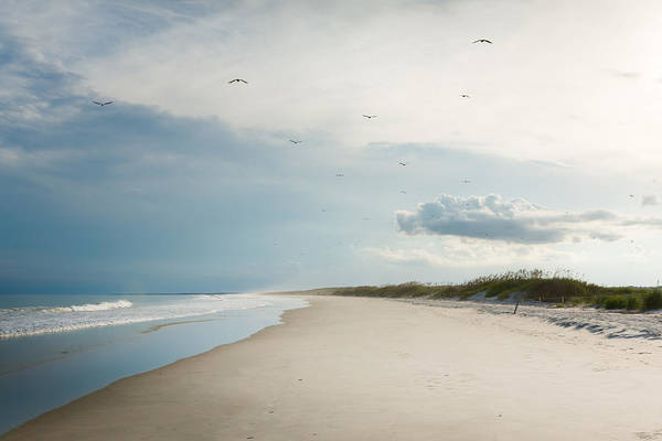 Shore Photograph - Huntington Beach State Park II by Ivo Kerssemakers