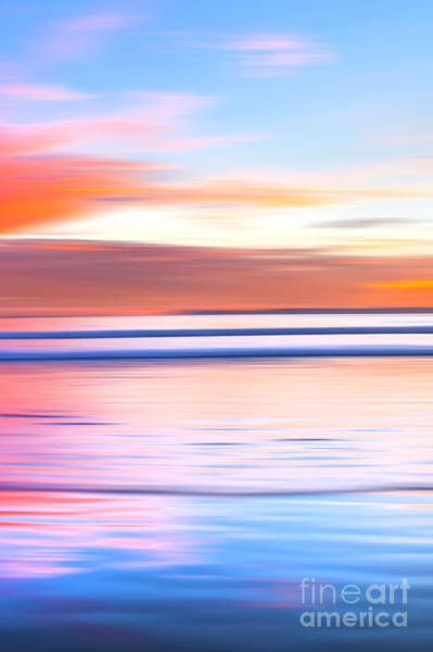 Huntington Beach Pier Photograph - Huntington Pastels - 3 Of 3 by Sean Davey