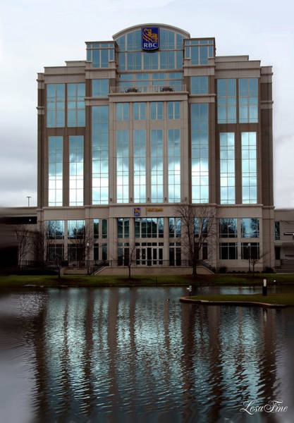 Photograph - Huntsville Alabama Rbc Bank Building by Lesa Fine