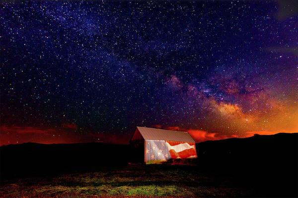 Photograph - Huntsville Barn by Norman Hall