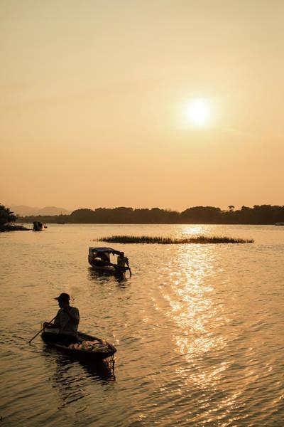Photograph - Huong River #3 by Tran Minh Quan